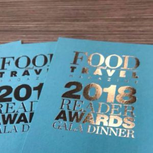 Food & Travel Reader Awards