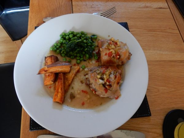 Roast Chicken Thighs with Lime and Ginger