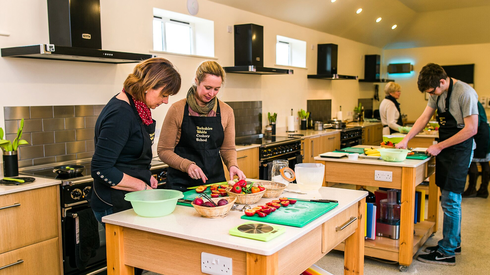 Yorkshire Wolds Cookery School Kitchen