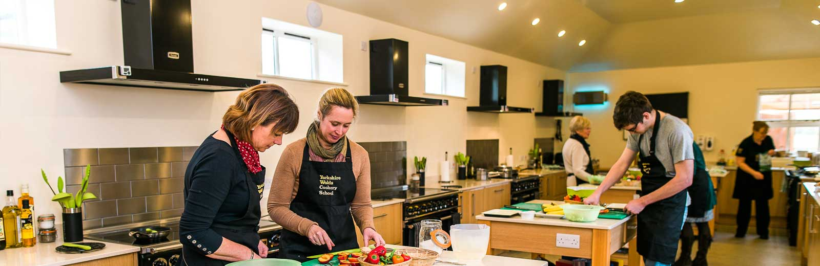 Cookery Classes taking place at Yorkshire Wolds Cookery School