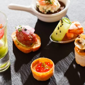Try One of Ali's Delicious Canapes