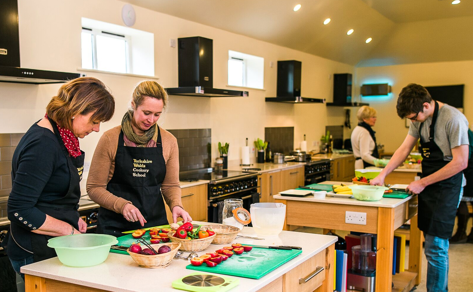 Cookery Class at Yorkshire Wolds Cookery School
